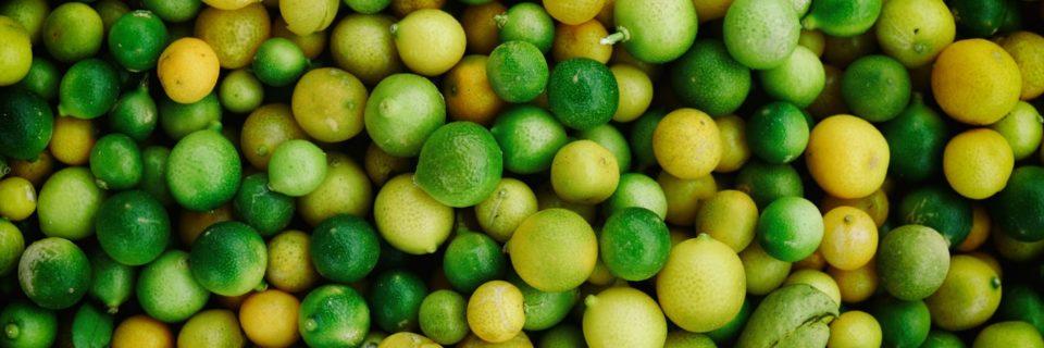 Сертификат на лимоны и лаймы