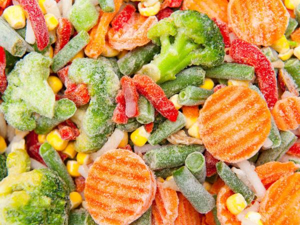 Замороженные овощи/фрукты