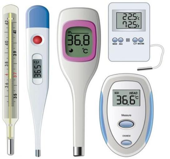 Регистрационное удостоверение на термометры