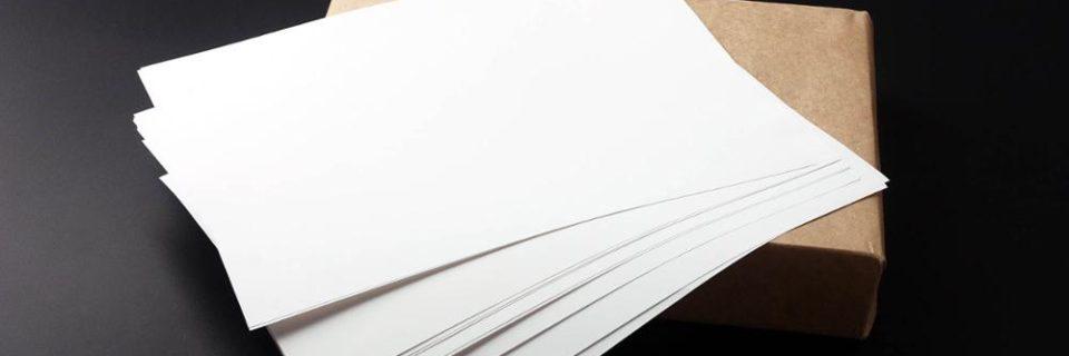 Отказное информационное письмо на бумагу
